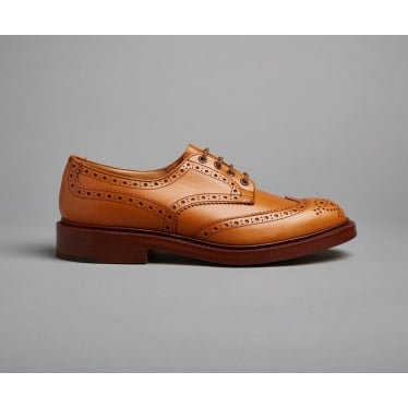 Mens Bourton Country Shoe in Acorn Antique