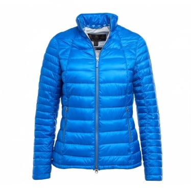 Womens Daisyhill Quilted Jacket in Victoria Blue/Ice White