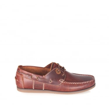 Mens Capstan Shoes in Mahogany