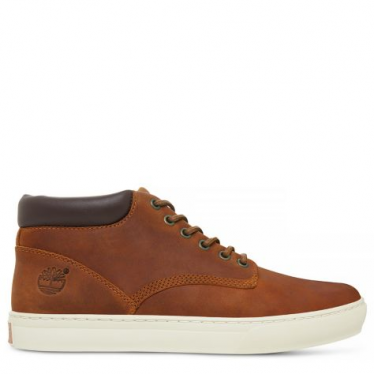 Mens Adventure 2.0 Cupsole Chukka in Glazed Ginger Rough Cut