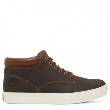 Mens Adventure 2.0 Cupsole Chukka in Dark Olive Rough Cut