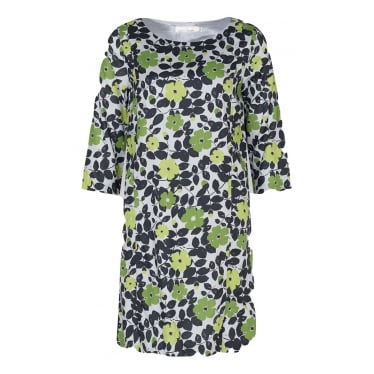 Womens Carwinion Dress in Spring Buds Herring