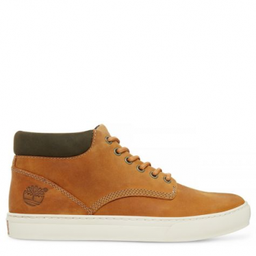 Mens Adventure 2.0 Cupsole Chukka in Burnished Wheat Nubuck