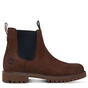 Mens Icon Chelsea Boot in Potting Soil Vecchio