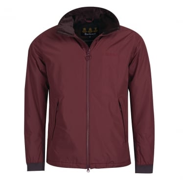 Mens Souk Waterproof Jacket in Conker Wine