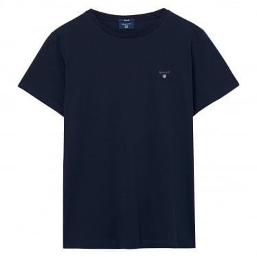 Mens The Original Solid T-shirt in Evening Blue