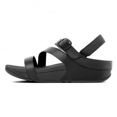 cb2682f0dc01de Womens The Skinny II Leather Back-Strap Sandal in Black · FitFlop™ ...