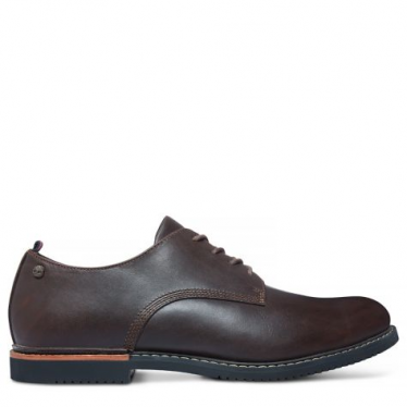 Mens Brook Park Oxford in Brown Smooth