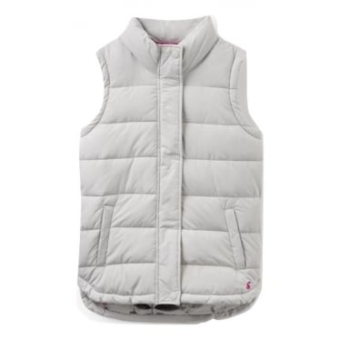 Womens Eastleigh Padded Gilet in Silver