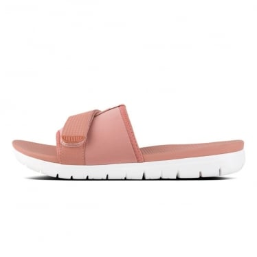 Womens Neoflex Slide Sandals in Dusty Pink Mix