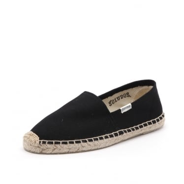 Womens Original Canvas Dali Espadrille in Black