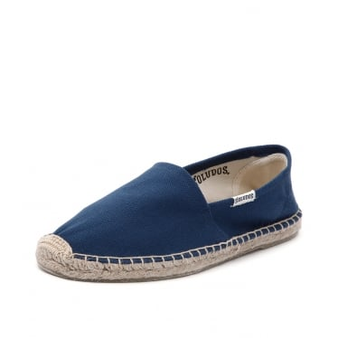Womens Original Canvas Dali Espadrille in Navy
