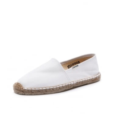 Womens Original Canvas Dali Espadrille in White