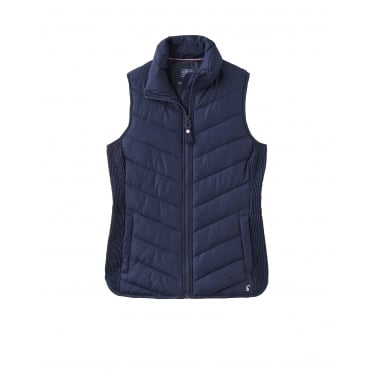 Womens Highgrove Padded Gilet in French Navy